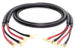 Mogami 3103 (L,R) Paar Lautsprecherkabel | VIABLUE 24k gold Kabelschuhe